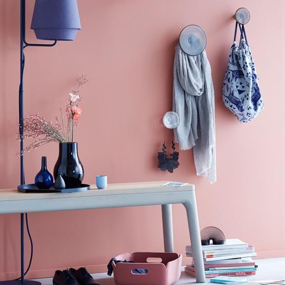 Die besten 25+ Rosa wandfarbe Ideen auf Pinterest Pantone 2016