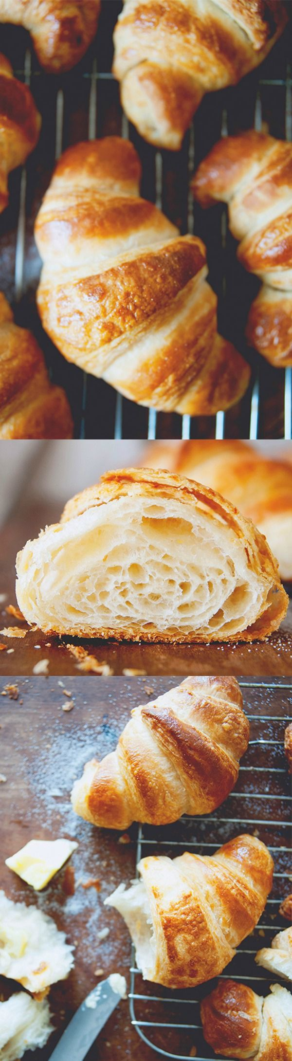Croissants – Homemade croissants with this easy and fail-proof recipe from @kitchykitchen | rasamalaysia.com