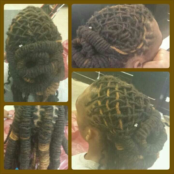 Basket weaving locs : Best images about locx on dreadlock styles