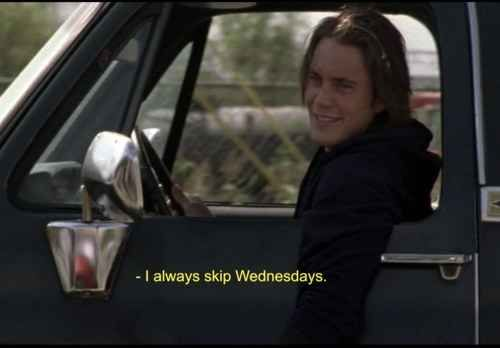 His philosophies would vastly improve your quality of life | 22 Reasons Why Tim Riggins Is The Perfect Boyfriend