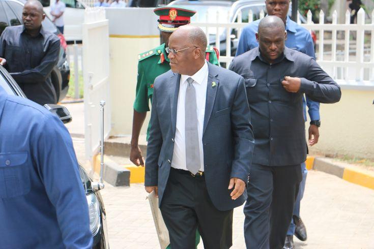 Breaking News: Rais Magufuli awasilisha fomu inayotaja mali na madeni yake