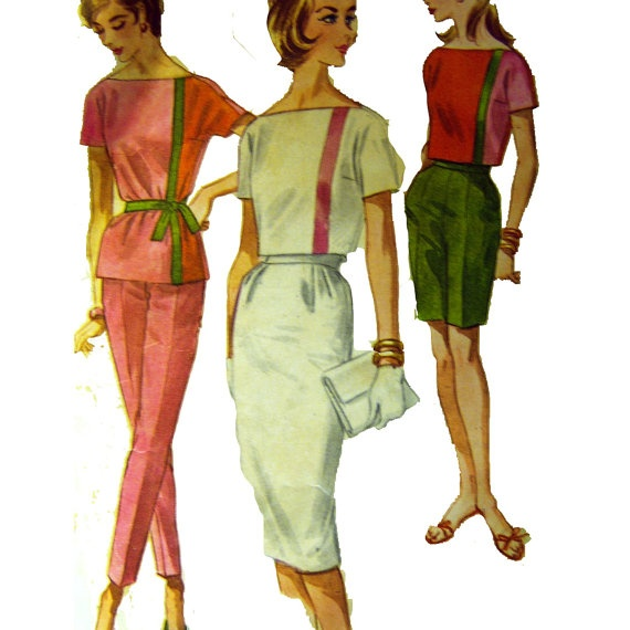 Vintage 60s Sports Separates Sewing Pattern by VintageCorePatterns, $5.25Summer Separation, Sports Separation, Etsy, 60S Sports, Vintage Wardrobe, Pattern Mccall, Vintage 60S, Separation Sewing, Sewing Patterns