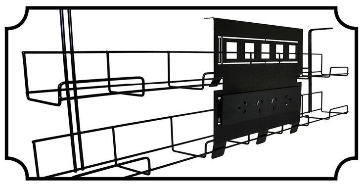 Elsafe Runner Cable Basket & Basket Panel http://elsafe.com.au/cable-tray.html
