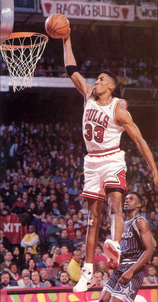 Scottie Pippen Chicago Bulls Orlando Magic
