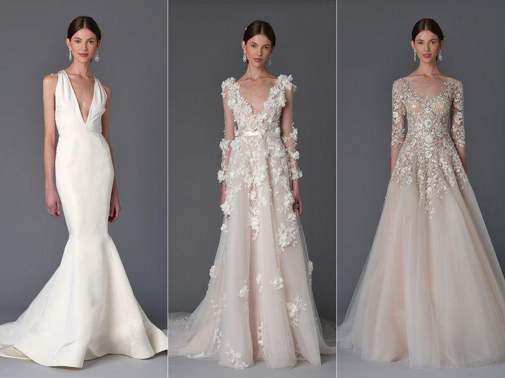 Veja a nova coleção dos vestidos de noiva Marchesa | Casar.com