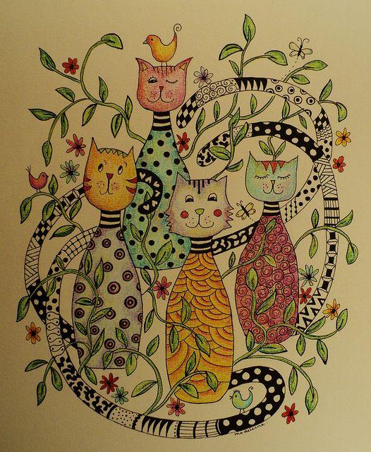 Cat doodles!