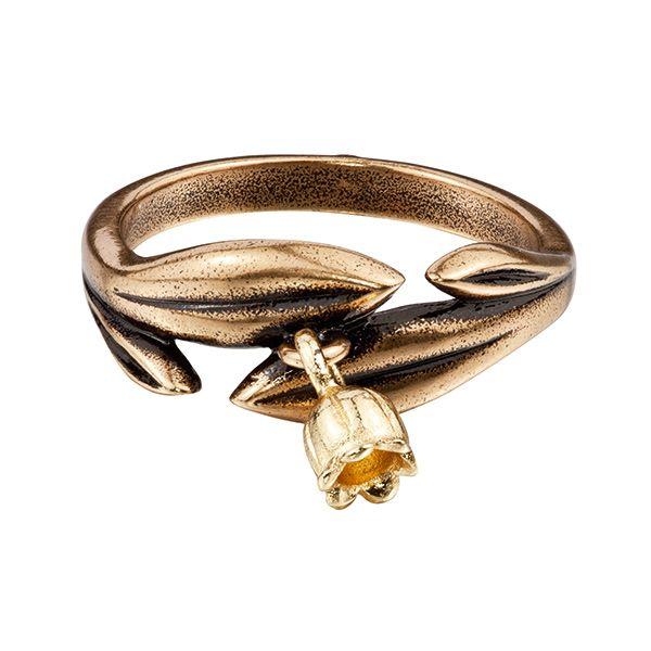 Lily of Valley ring by Finnish jewelry company Kalevala Koru