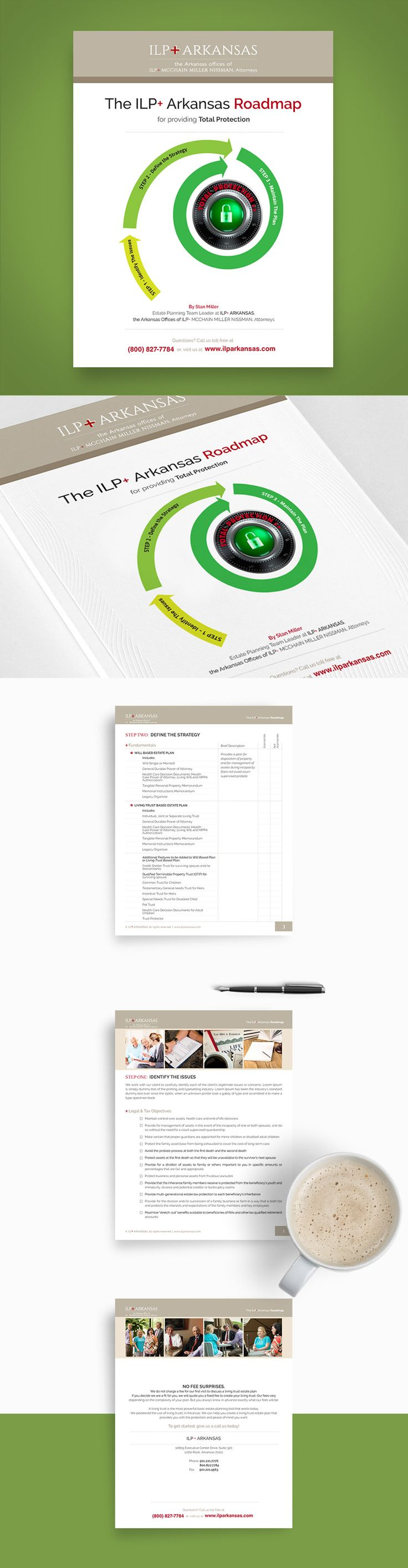 ROADMAP Booklet for Law Firm — UnfoldAtelier: Boost Sales with Friendly Design