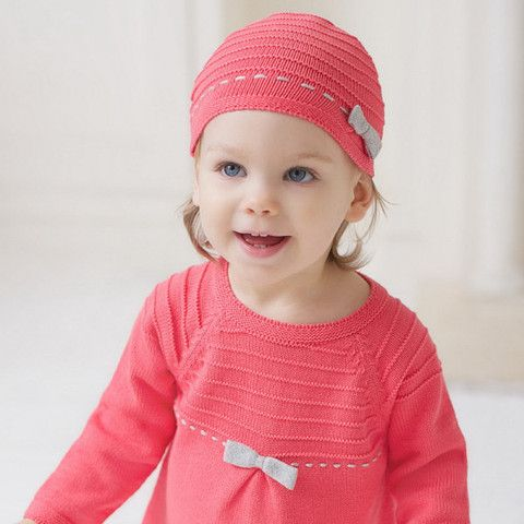 Pink knitted hat – ukookoo