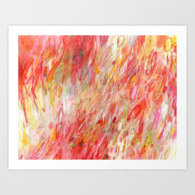 Rush by Jessica Torrant 2015 #abstract #painting #print