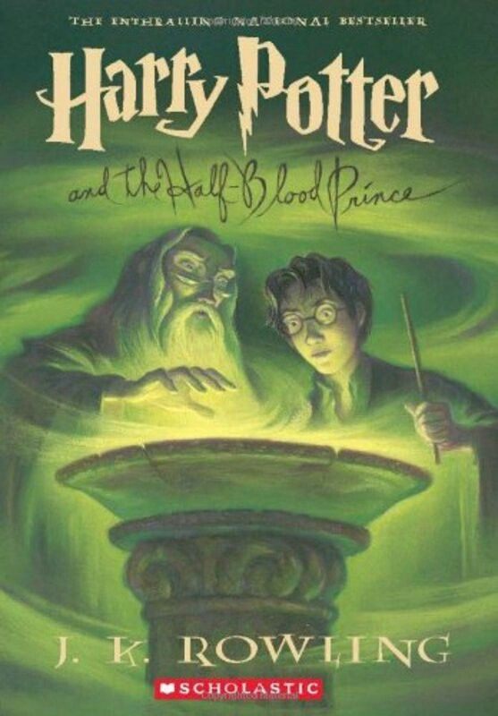 Original American cover, Harry Potter and the Half-Blood Prince
