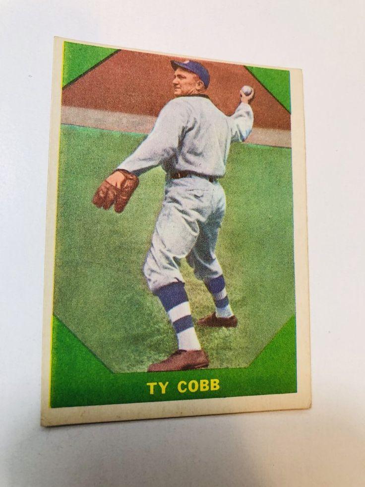 1960 Fleer Ty Cobb high grade baseball card in 2020