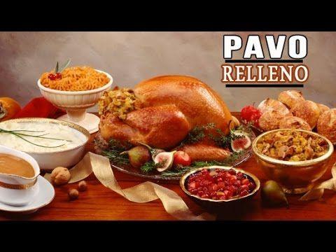 PAVO RELLENO - Recetas de Navidad o de Thanksgiving