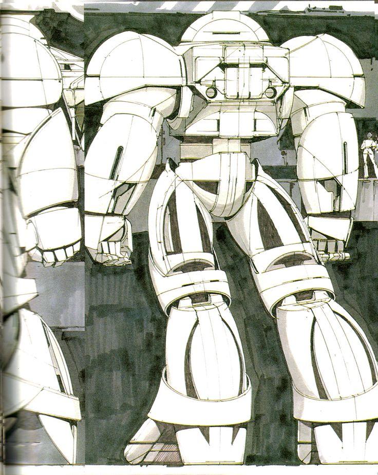 Sumo of Gundam ∀ by Syd Mead