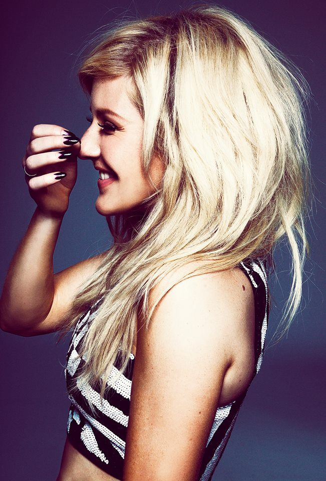 Ellie Goulding, love her when I hear her name on the radio I think their saying mine