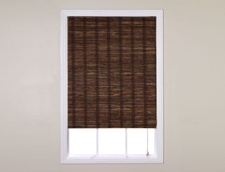 Natural woven waterfall shades smith and noble for Smith and noble shades