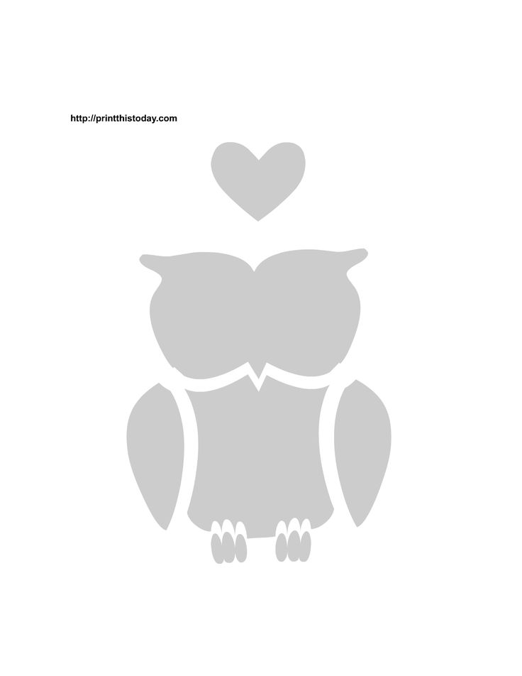 printable+stencils | Free Printable Love Birds Stencils | Print This Today