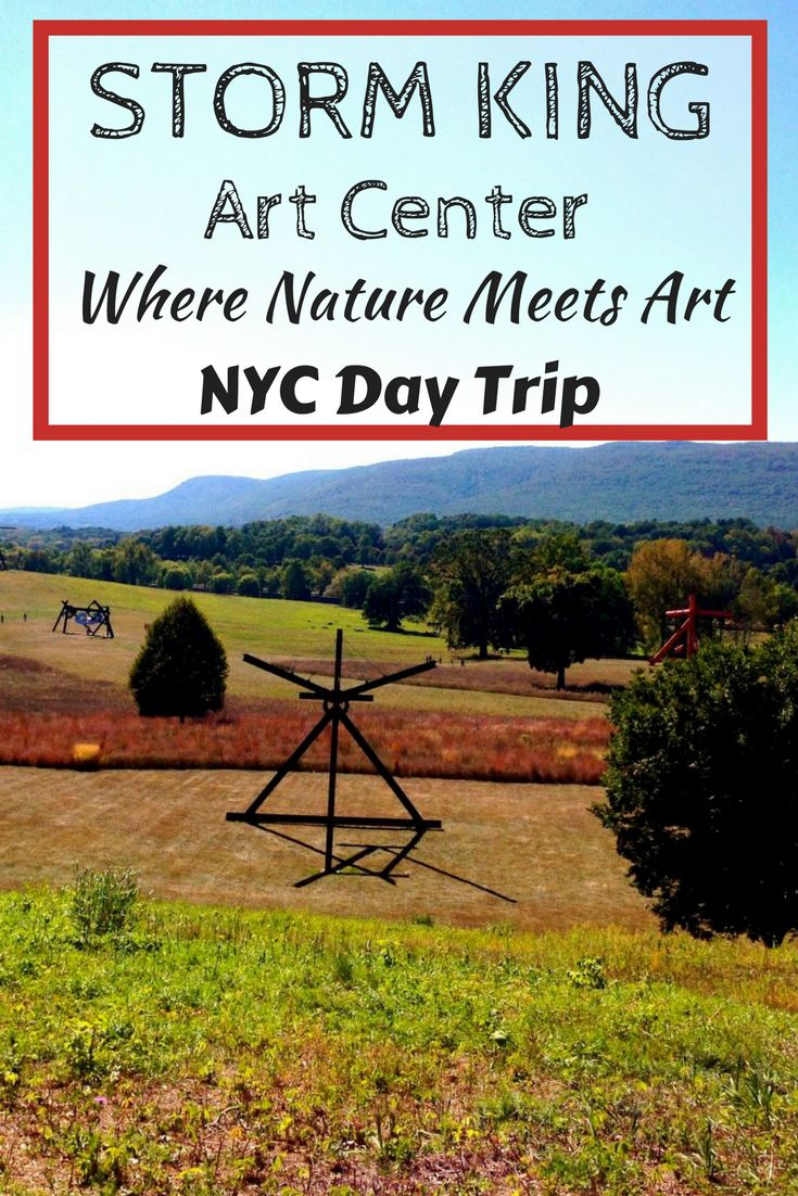 Storm King Art Center in the Hudson Valley is the perfect day trip from New York City. A place where nature meets art, all types of people enjoy this beautiful outdoor sculpture park. It's great for all ages, including families and kids.