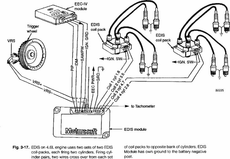 distributorless ignition system diagram