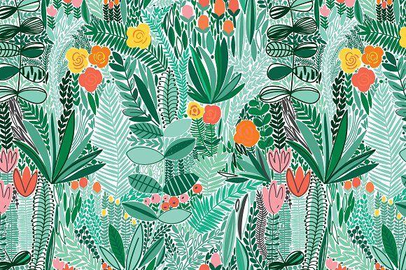 Floral Pattern Wallpaper, Macbook Wallpaper