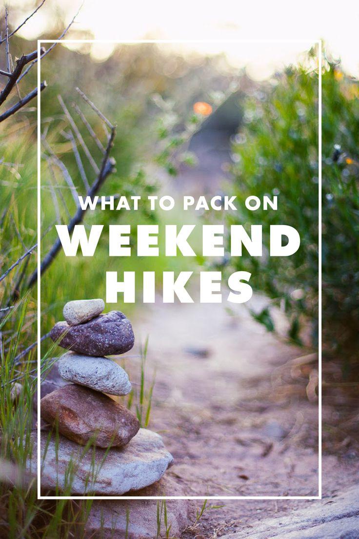 Weekend hike checklist! / eBay