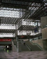 Javits Convention Center - I. M. Pei - Great Buildings Architecture