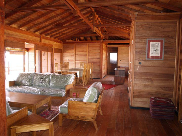 1000 images about maisons en bois on pinterest resorts Decoration bois interieur maison