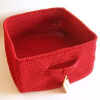 Crochet basket, free pdf download, photo tutorial, written instructions/ Canasta tejida, descarga pdf gratuito, instrucciones escritas y foto tutorial