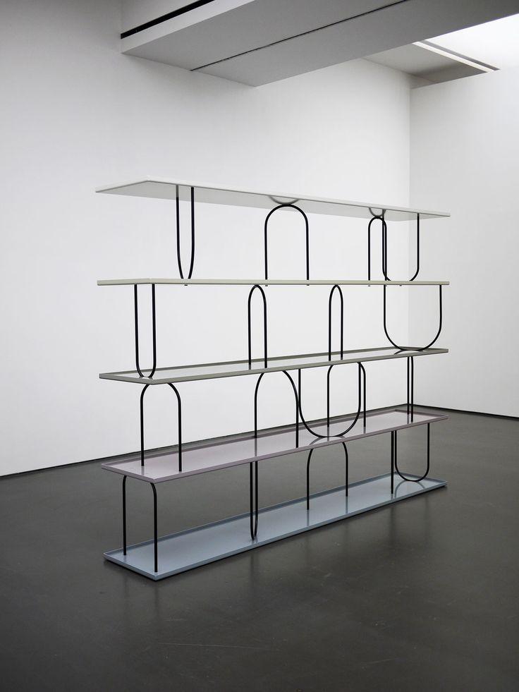 Nicole Wermers . Wasserregal, 2011