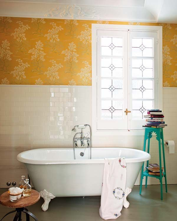 Get Happy With Yellow Bathrooms! |