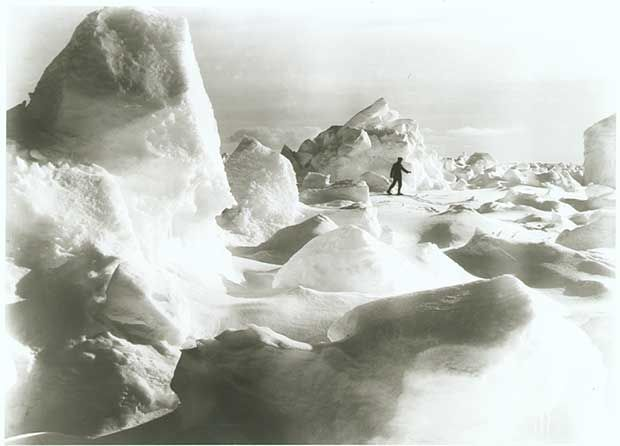 Erest Shackleton's epic Antarctic Expedition was captured by Endurance ship photographer Frank Hurley, 1915.