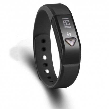Vidonn Oled Smart Wristband Bracelet with Sports & Sleep Tracking IP67 Bluetooth V4.0 for IOS & Android - X5 - Black Model  VNSE01BK  Vidonn termurah hanya di Gudang Gadget Murah. Vidonn smart bracelet is a wearable smart devices, containing three-dimensional motion sensor, vibration motors.Users can record real-time exercise and slepping data everyday with bracelet. It can be synchronized with a Bluetooth smartphone or PC - Black