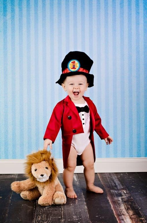 Ringmaster Costume  2 Piece  Fully Lined Tuxedo by CupcakesCottage