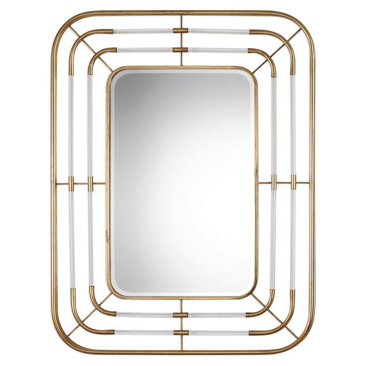 Uttermost Bayo Gold Wall Mirror - 9198