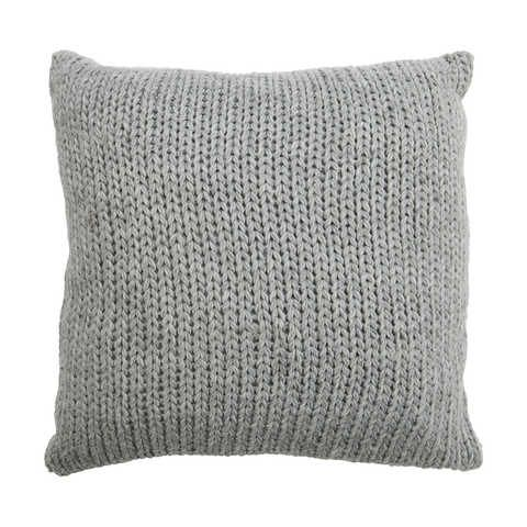 Knit Cushion - Grey