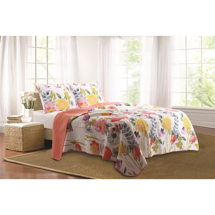 132 best Bedding images on Pinterest | Architecture, Bed room and ... : soft cotton quilt - Adamdwight.com