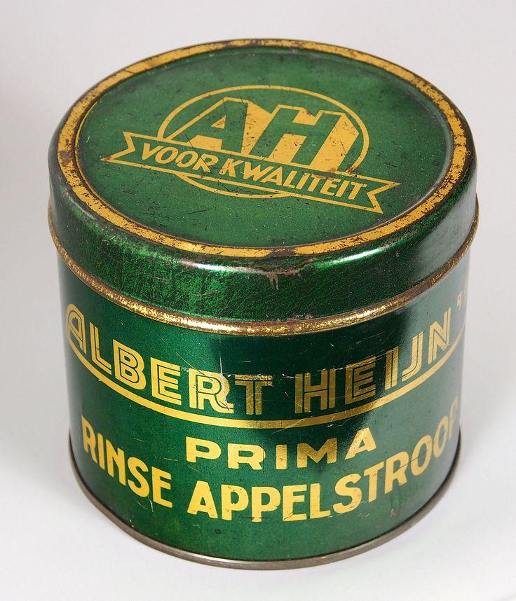AH  Appelstroop blik.