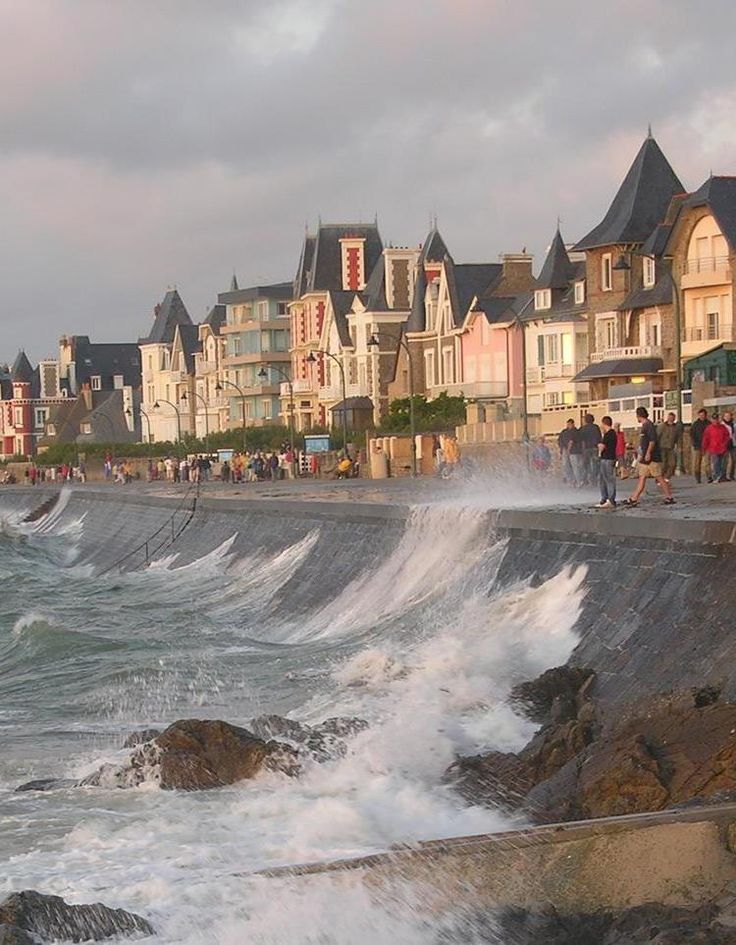 Saint-Malo, Brittany, France. One of my favourite places I visited with my French Mum, Catherine