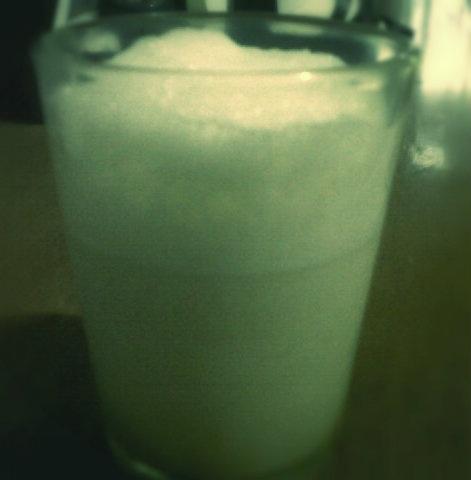 green tea milkshakes