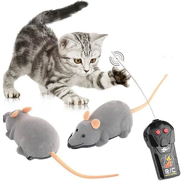 Scary RC Simulation Plush Mouse Toy