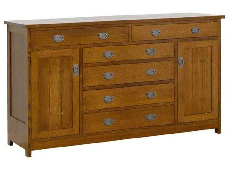 Valley View Oak Sante Fe Sideboard VVO32028 from Walter E. Smithe Furniture + Design