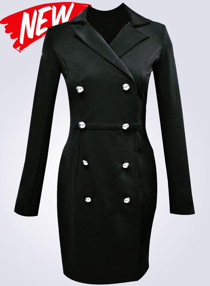 Vă prezentăm un model nou de rochie marca Adrom Collection. Este o rochie stil sacou realizată pe o croială modernă și originală, fiind ideală pentru obținerea unei ținute clasice. Se poate cumpăra online în regim en-gros de aici: http://www.adromcollection.ro/439-rochie-angro-r573.html