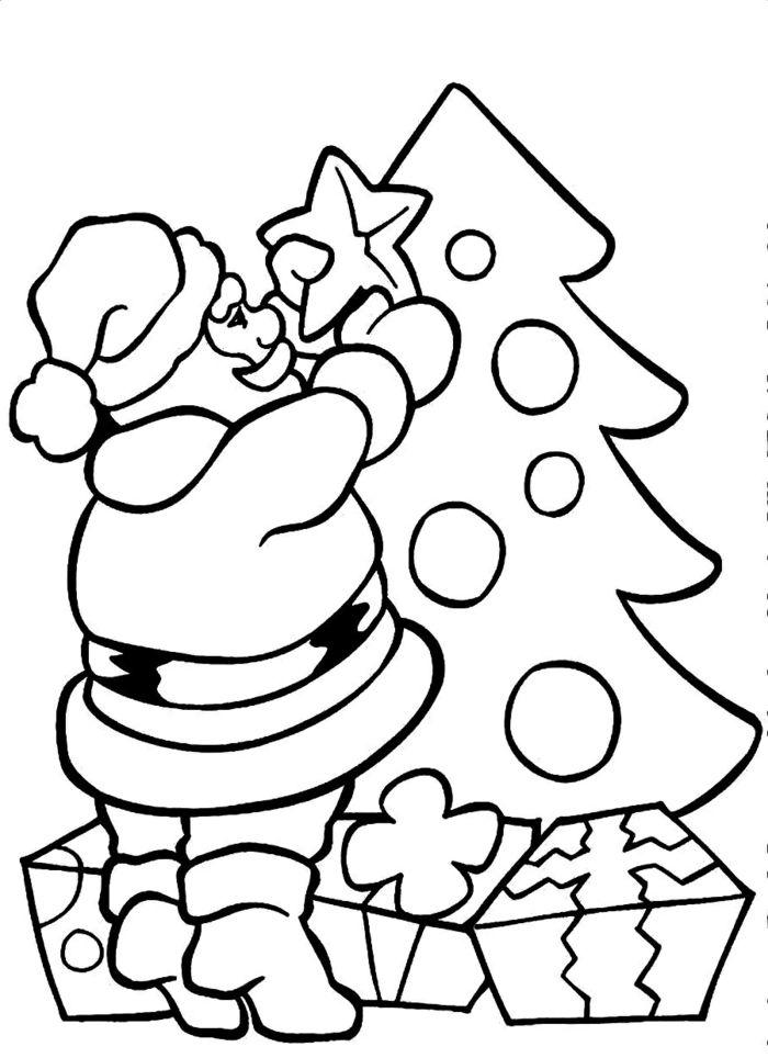 1001 Ideas De Dibujos Navidenos Para Colorear Arbol De Navidad Para Colorear Paginas Para Colorear De Navidad Dibujos Navidenos