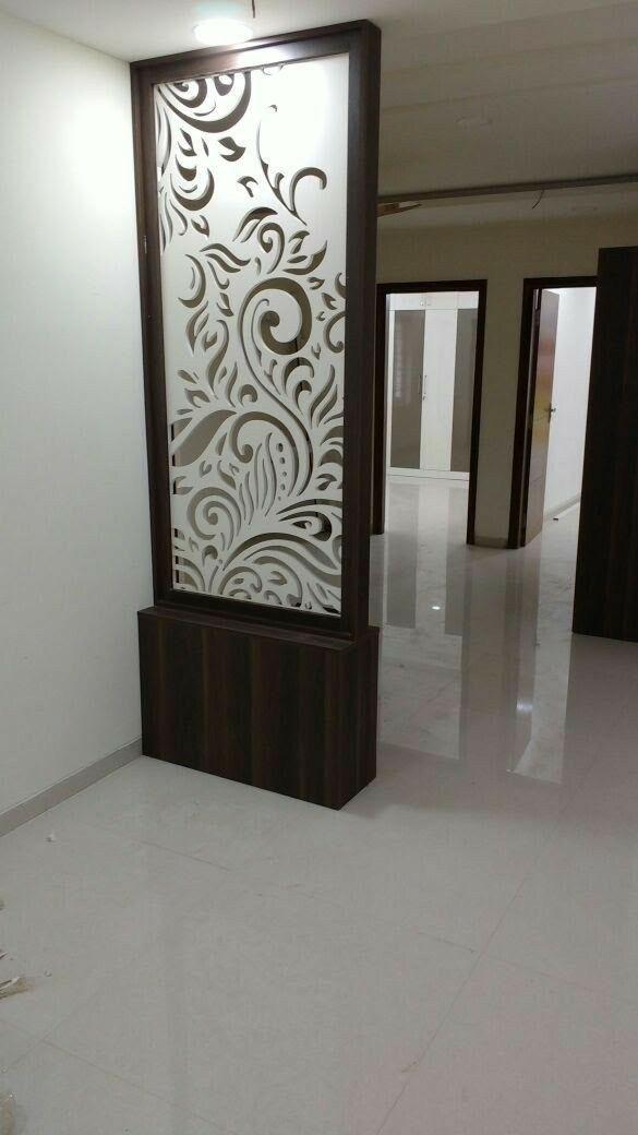 Pin By Sumathi On Raju Chhimpa Living Room Partition Design Glass Partition Designs Room Partition Designs