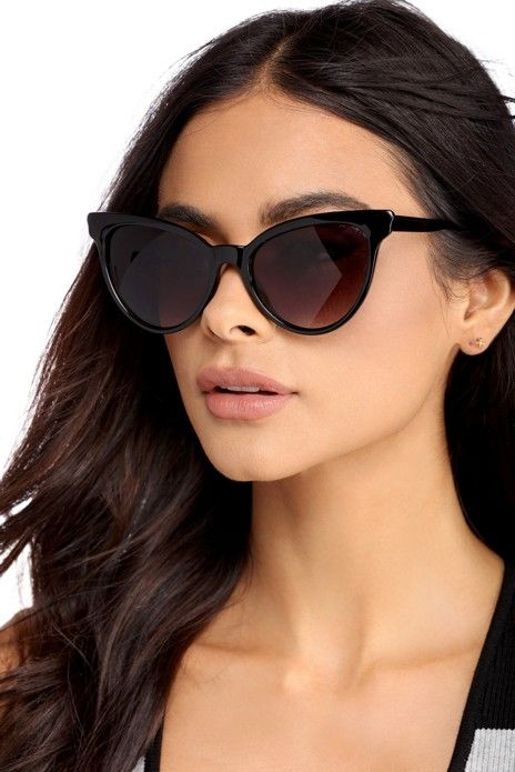 39df0a7405 These sunnies can be too hot to handle! They feature a plastic cat eye frame