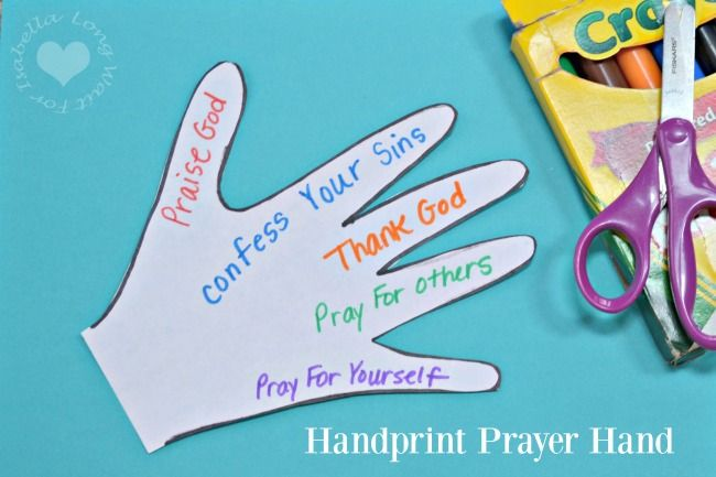 Teaching kids a Lords prayer Bible craft? Here are a few ideas! A post from Seattle area family lifestyle blog Long Wait For Isabella.