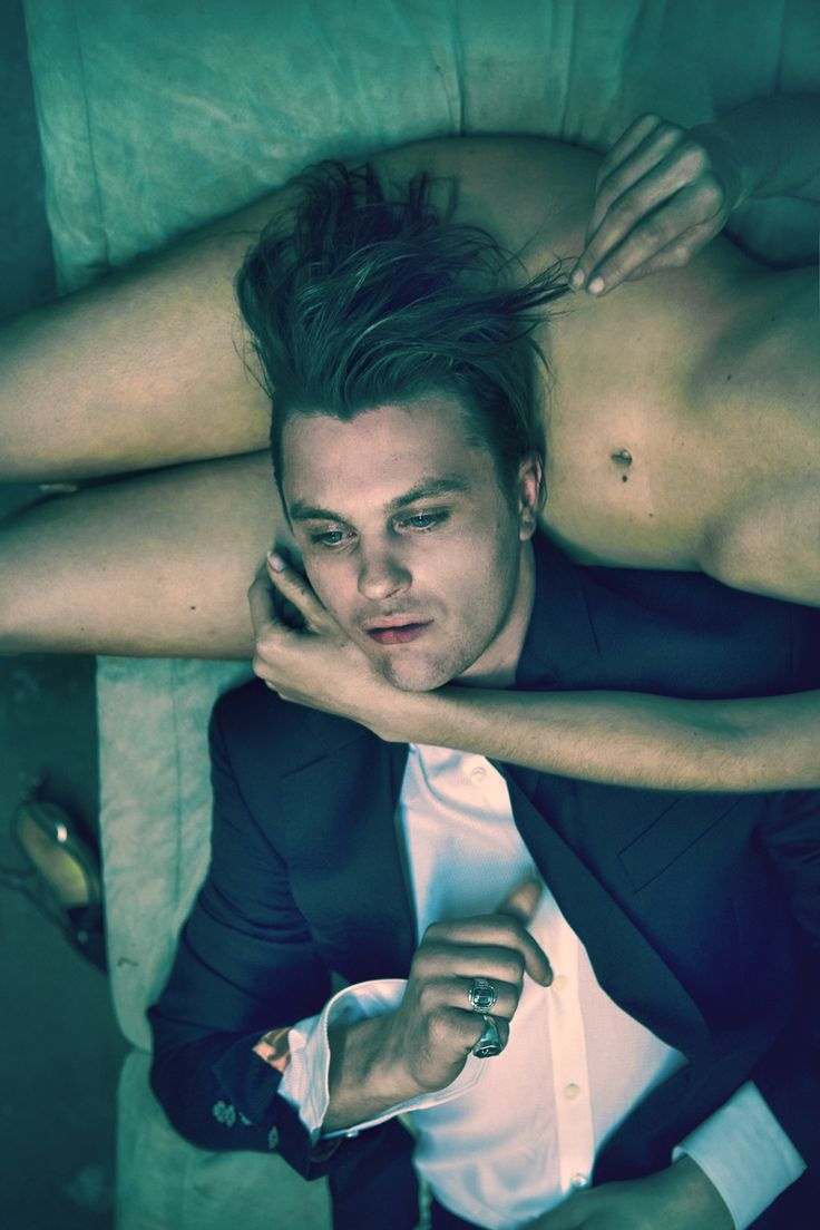 Michael Pitt, photographed by Mason Poole for Flaunt magazine, May 2014.