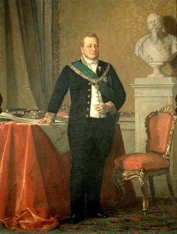 Camillo Benso, Conte di Cavour - Turin - Michele Gordigiani (1835-1909) - Portrait of Camillo Benso Conte di Cavour the first Prime Minister of Italy