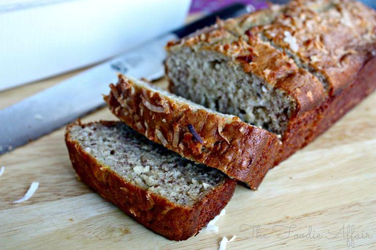 Coconut Bread - The Foodie Affair #bakingrecipe #bread #cookinglight