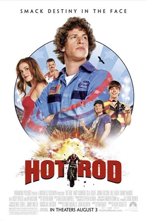 Movie Posters : Hot Rod (2007) dir. Akiva Schaffer